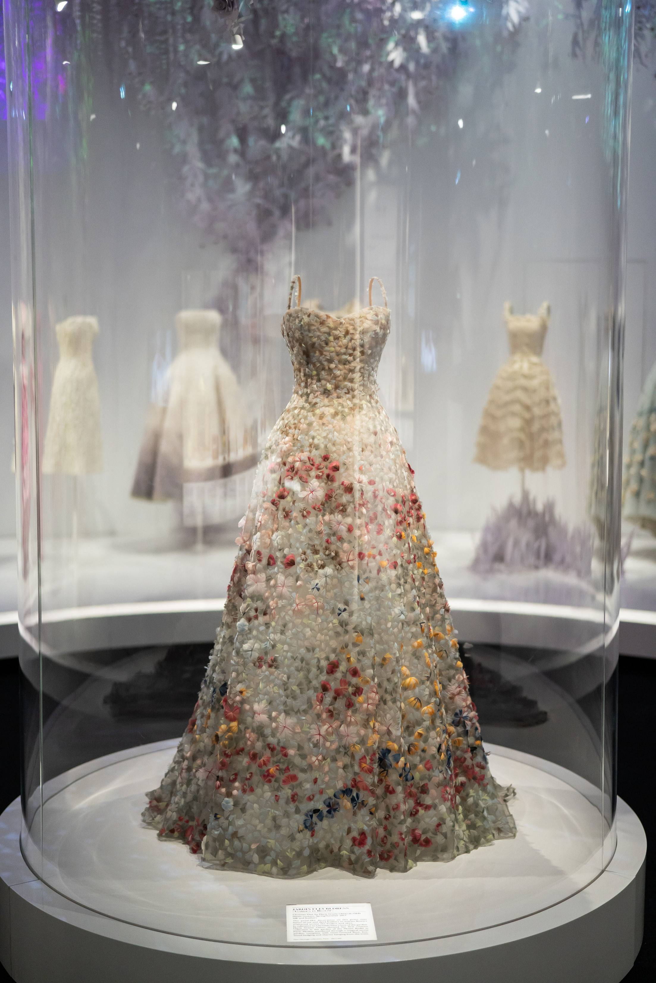 Christian Dior Designer of Dreams Exhibition, Victoria and Albert Museum London, London event planners
