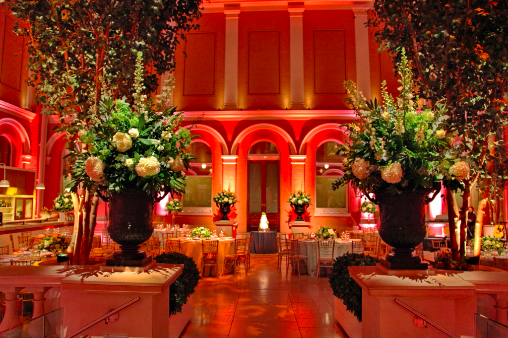 We love to plan weddings at the Wallace Collection