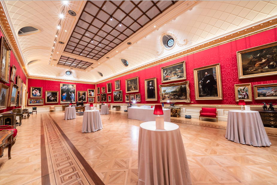 The Wallace Collection, Luxury London Venue, Wallace Collection Events, The Great Gallery, Wallace Collection Great Gallery