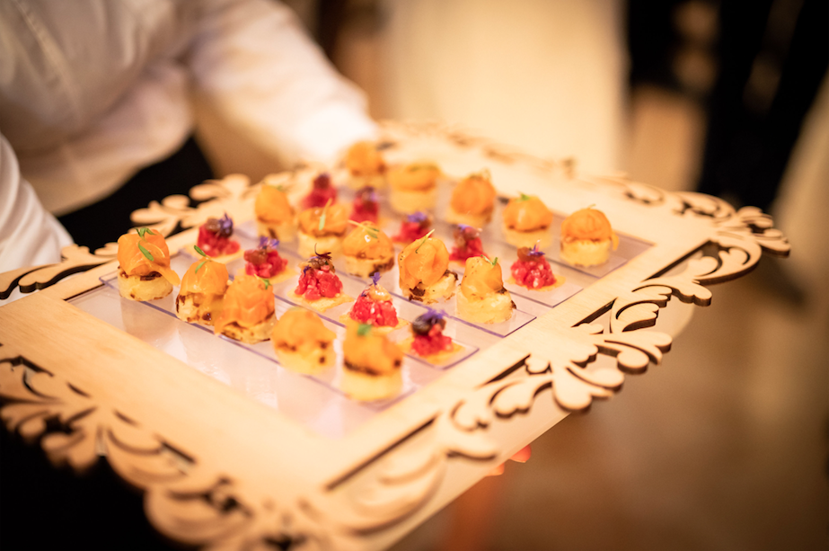 Luxury Event Canapés, Event Canapés, Alison Price Catering